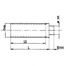 Elektromotor  132-2 5,5KW  B14A IE2