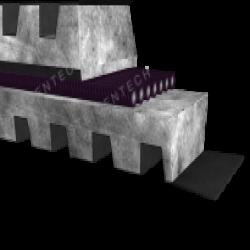 Motorspanslede  RPSL00210 Voor IEC B3 motor grootte 63 t/m 80